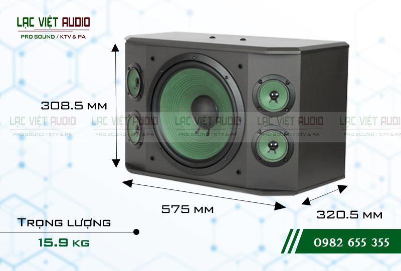 Thiết kế của sản phẩm Loa Paramax K2000 NEW