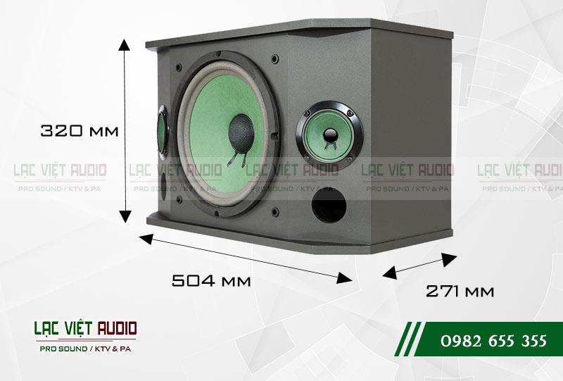 Thiết kế của sản phẩm Loa Paramax K850 NEW