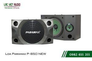 Giới thiệu về sản phẩm Loa Paramax P850 NEW