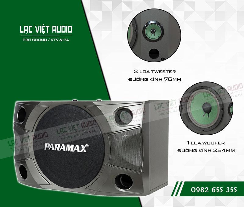 Các tính năng nổi bật của sản phẩm Loa Paramax P850 NEW