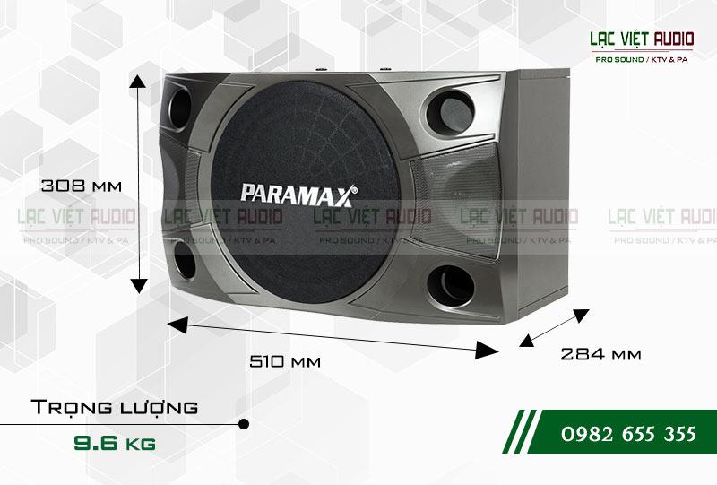 Thiết kế của sản phẩm Loa Paramax P850 NEW