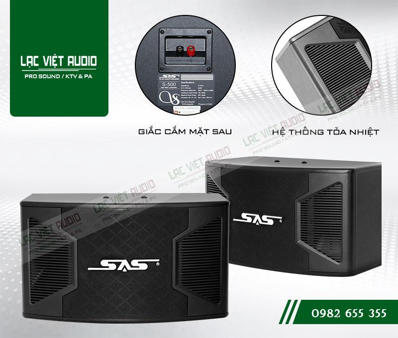 Các tính năng nổi bật của sản phẩm Loa Paramax SAS S500