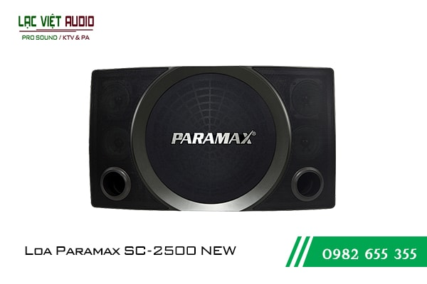 Giới thiệu về Loa Paramax SC 2500 NEW