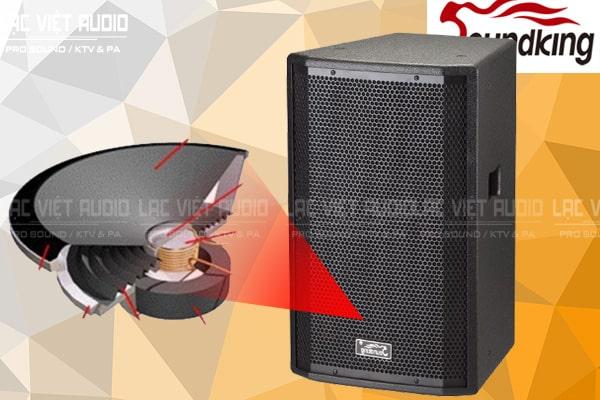 Thiết kế bên ngoài của sản phẩm Loa soundking H15