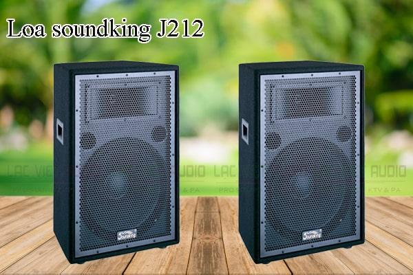 Các thiết kế bên ngoài của sản phẩm Loa soundking J212