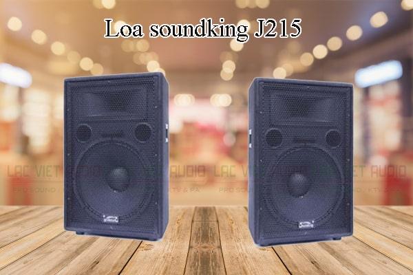 Các thiết kế bên ngoài của sản phẩm Loa soundking J215