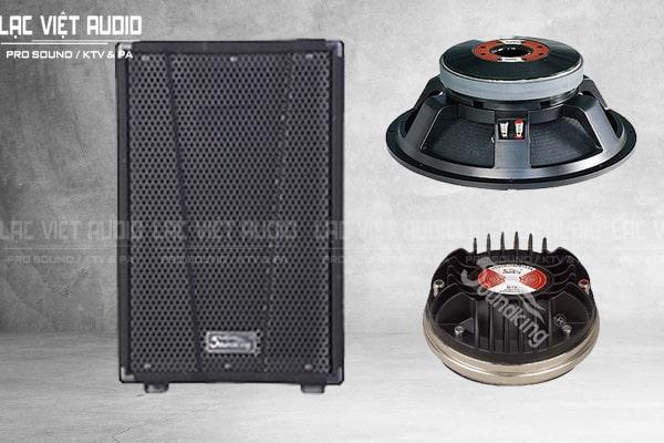 Thiết kế bên ngoài của sản phẩm Loa soundking KJ15