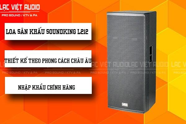 Tính năng nổi bật của sản phẩm Loa soundking L212