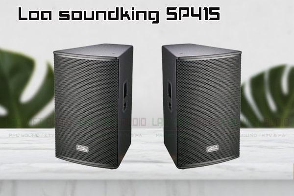 Thiết kế bên ngoài của sản phẩm Loa soundking SP415