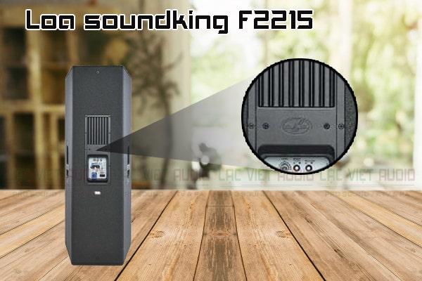 Thiết kế bên ngoài của sản phẩm Loa soundking F2215
