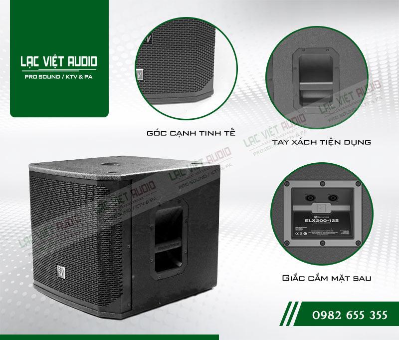 Tính năng của sản phẩm Loa sub EV ELX200 12S