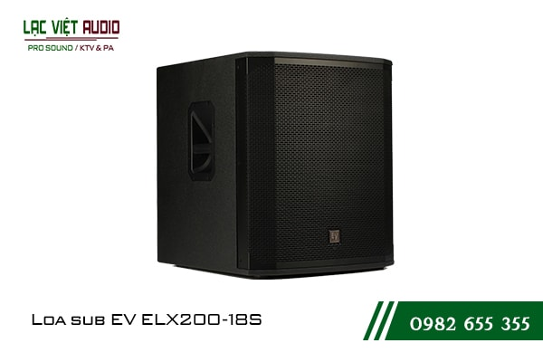 Giới thiệu về sản phẩm Loa sub EV ELX200 18S