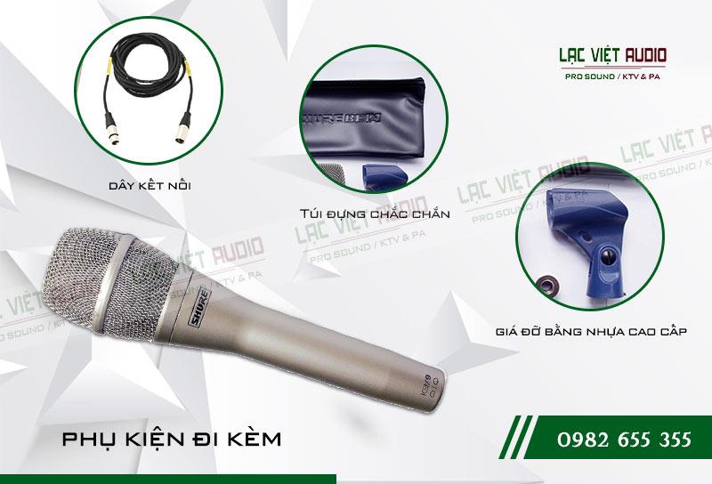 Các tính năng nổi bật của sản phẩm Micro SHURE KSM9