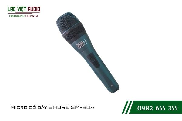 Giới thiệu về sản phẩm Micro SHURE SM 90A