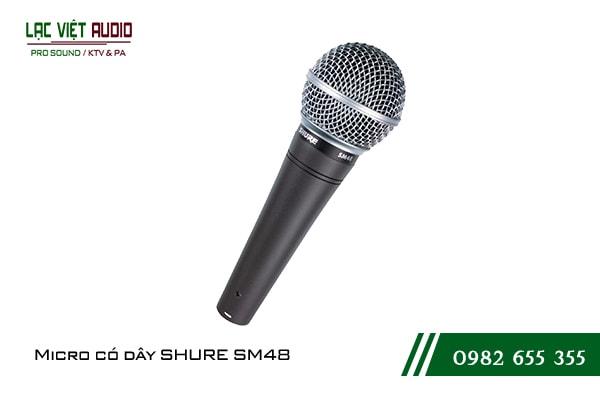 Giới thiệu về sản phẩm Micro có dây SHURE SM48