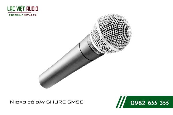 Giới thiệu về sản phẩm Micro có dây SHURE SM58