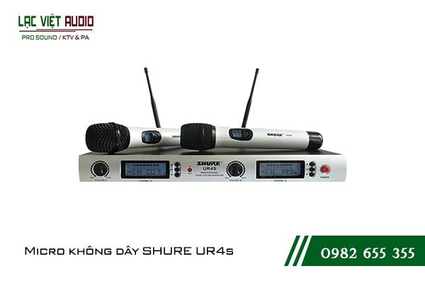 Giới thiệu về sản phẩm Micro Shure UR4S