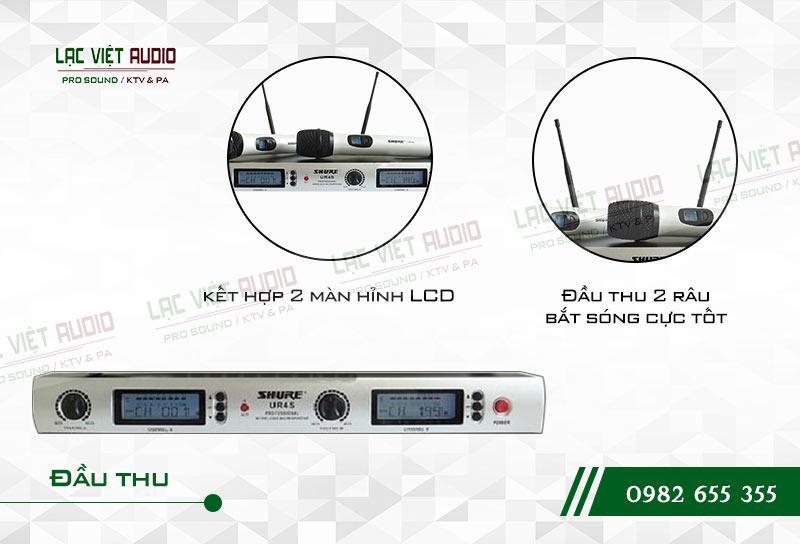 Các tính năng nổi bật của sản phẩm Micro Shure UR4S