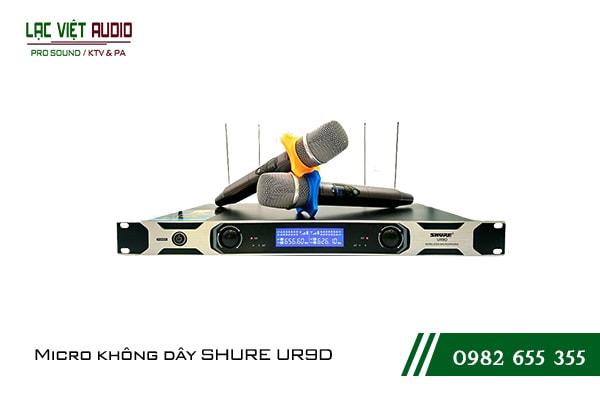 Giới thiệu về sản phẩm Micro shure UR9D
