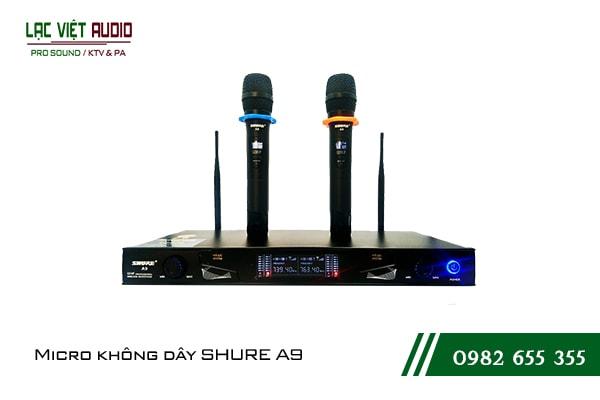 Giới thiệu về sản phẩm Micro Shure A9