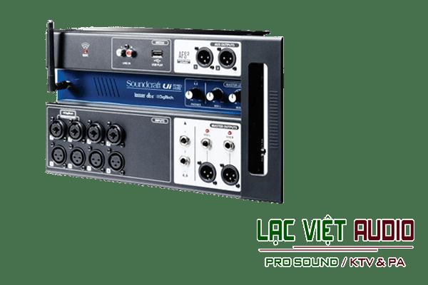 Giới thiệu về sản phẩm Bàn mixer Soundcraft Ui12