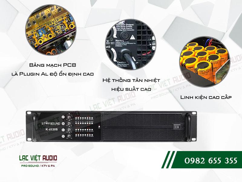 Các đặc điểm nổi bật của sản phẩmCục đẩy Star Sound K4130S
