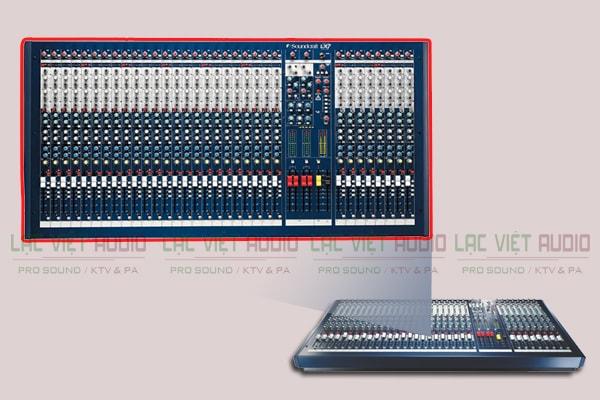 Thiết kế của sản phẩm Bàn mixer Soundcraft LX7II 32