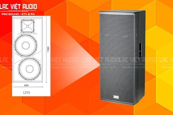 Thiết kế bên ngoài của sản phẩm Loa soundking L212