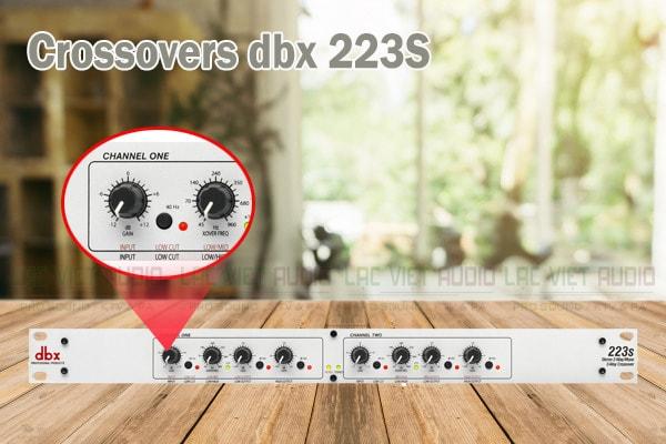 Thiết kế của sản phẩm Crossovers dbx 223S