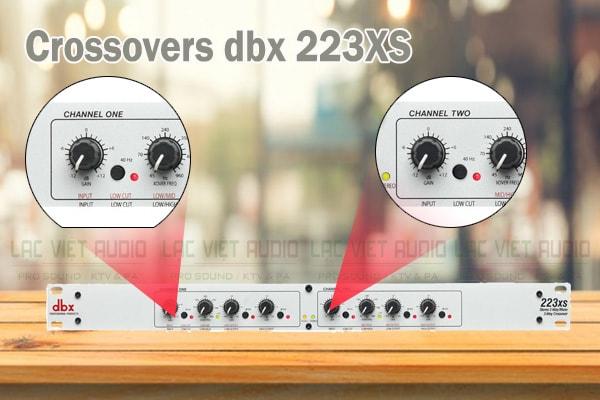 Tính năng của sản phẩm Crossovers dbx 223XS