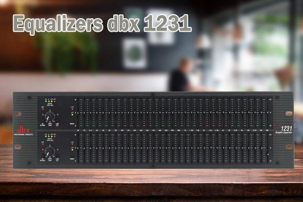 Tính năng của sản phẩm Equalizers dbx 1231