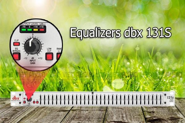 Tính năng của sản phẩm Equalizers dbx 131S