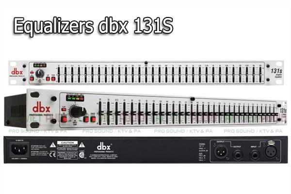 Thiết kế của sản phẩm Equalizers dbx 131S