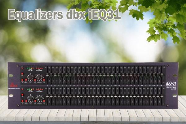Tính năng của sản phẩm Equalizers dbx iEQ31