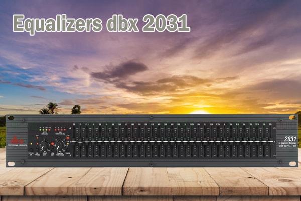Tính năng của sản phẩm Equalizers dbx 2031