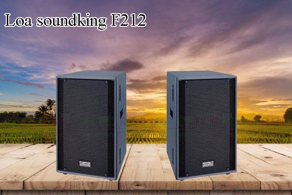 Các thiết kế bên ngoài của sản phẩm Loa soundking F212