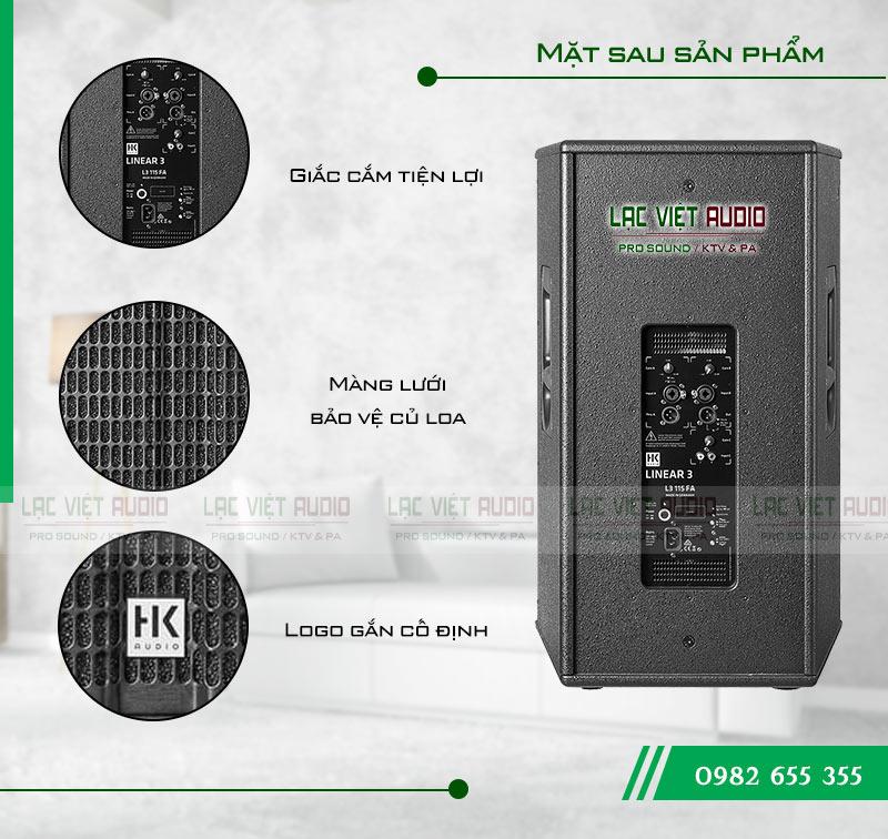 Tính năng nổi bật của sản phẩm Loa HK L3 115FA