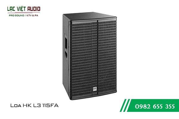 Giới thiệu về sản phẩm Loa HK L3 115FA
