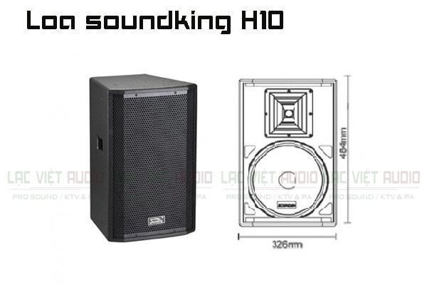 Thiết kế bên ngoài của sản phẩm Loa soundking H10