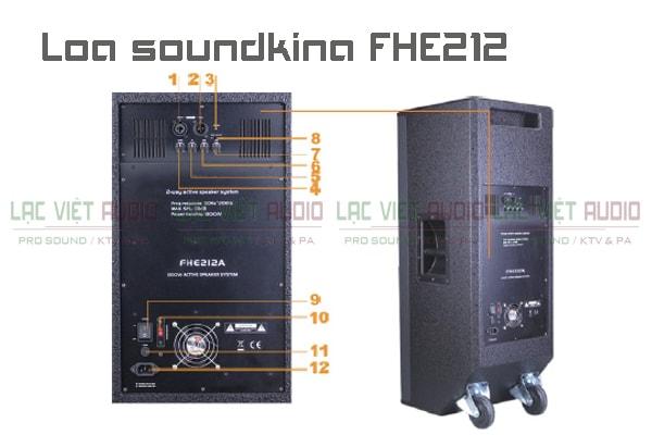 Loa soundking FHE212- chất lượng cao giá cực tốt tại Lạc Việt Audio