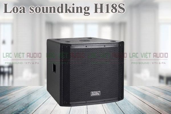 Thiết kế của sản phẩm Loa soundking H18S