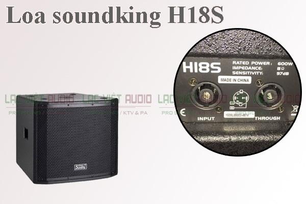 Tính năng của sản phẩm Loa soundking H18S