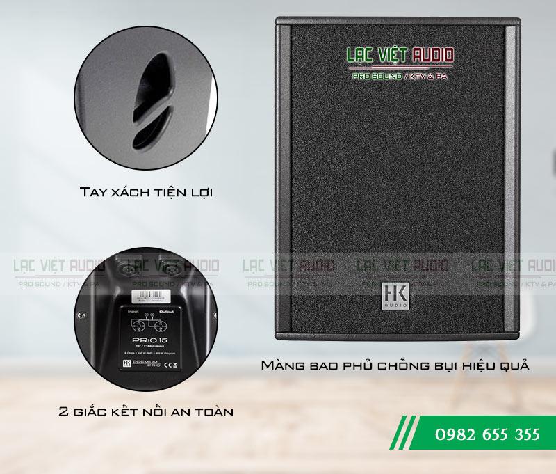 Tính năng nổi bật của sản phẩm Loa HK PRO 15