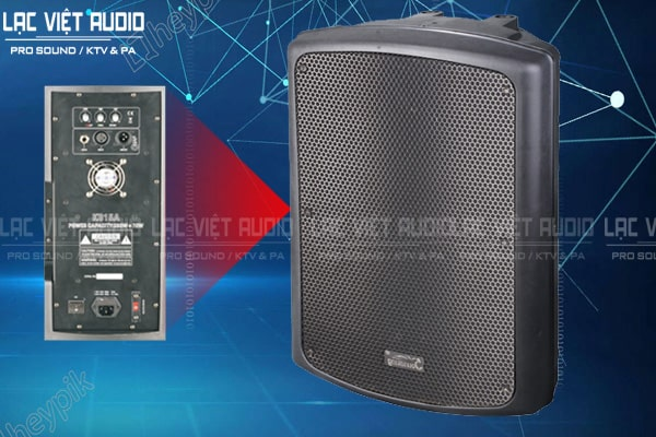 Thiết kế bên ngoài của sản phẩm Loa soundking KB15A