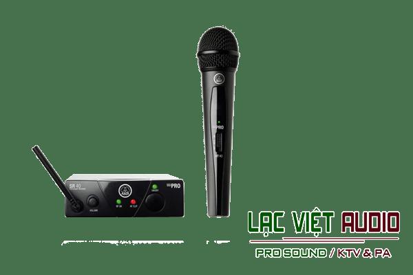 Giới thiệu về sản phẩm Micro AKG WMS 40 Mini Vocal Set