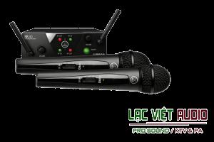 Giới thiệu về sản phẩm Micro AKG WMS 40 Mini Dual Vocal