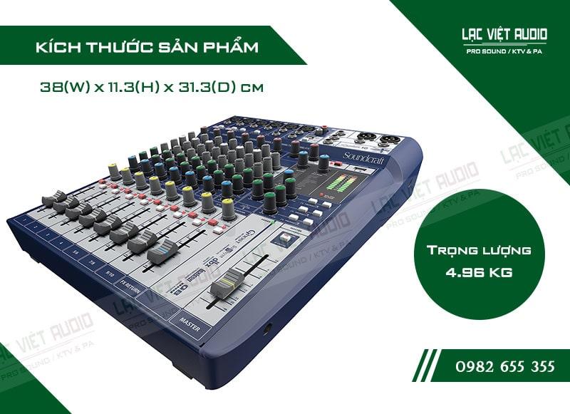 Thiết kế của sản phẩm Bàn mixer Soundcraft SIGNATURE 10