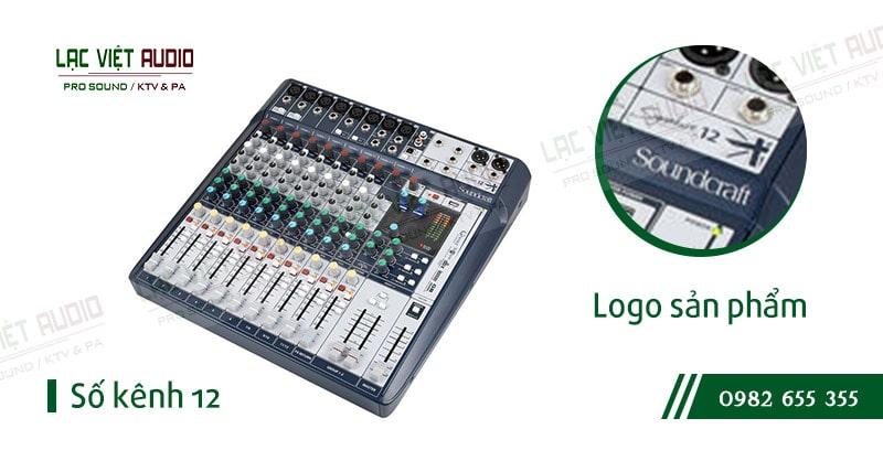Các đặc điểm nổi bật của sản phẩm Bàn mixer Soundcraft SIGNATURE 12