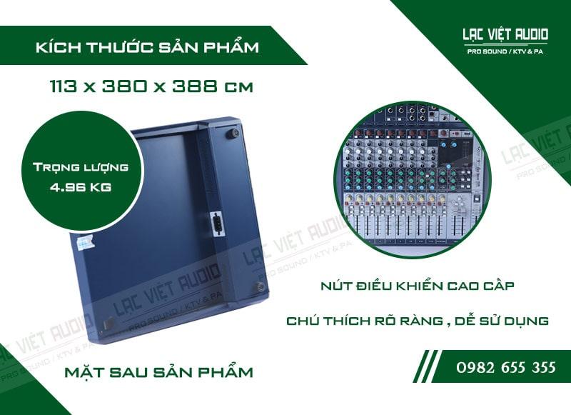 Thiết kế của sản phẩm Bàn mixer Soundcraft SIGNATURE 12