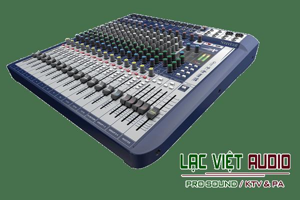 Giới thiệu về sản phẩm Bàn mixer Soundcraft SIGNATURE 16